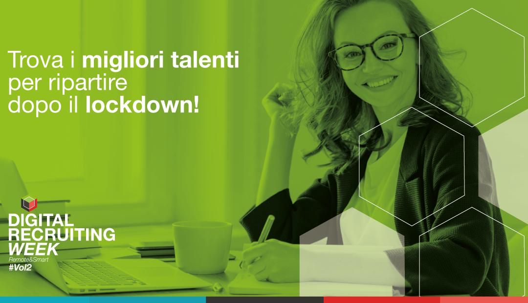Dal 4 all'8 maggio torna la Digital Recruiting Week per aziende e candidati di tutta Italia