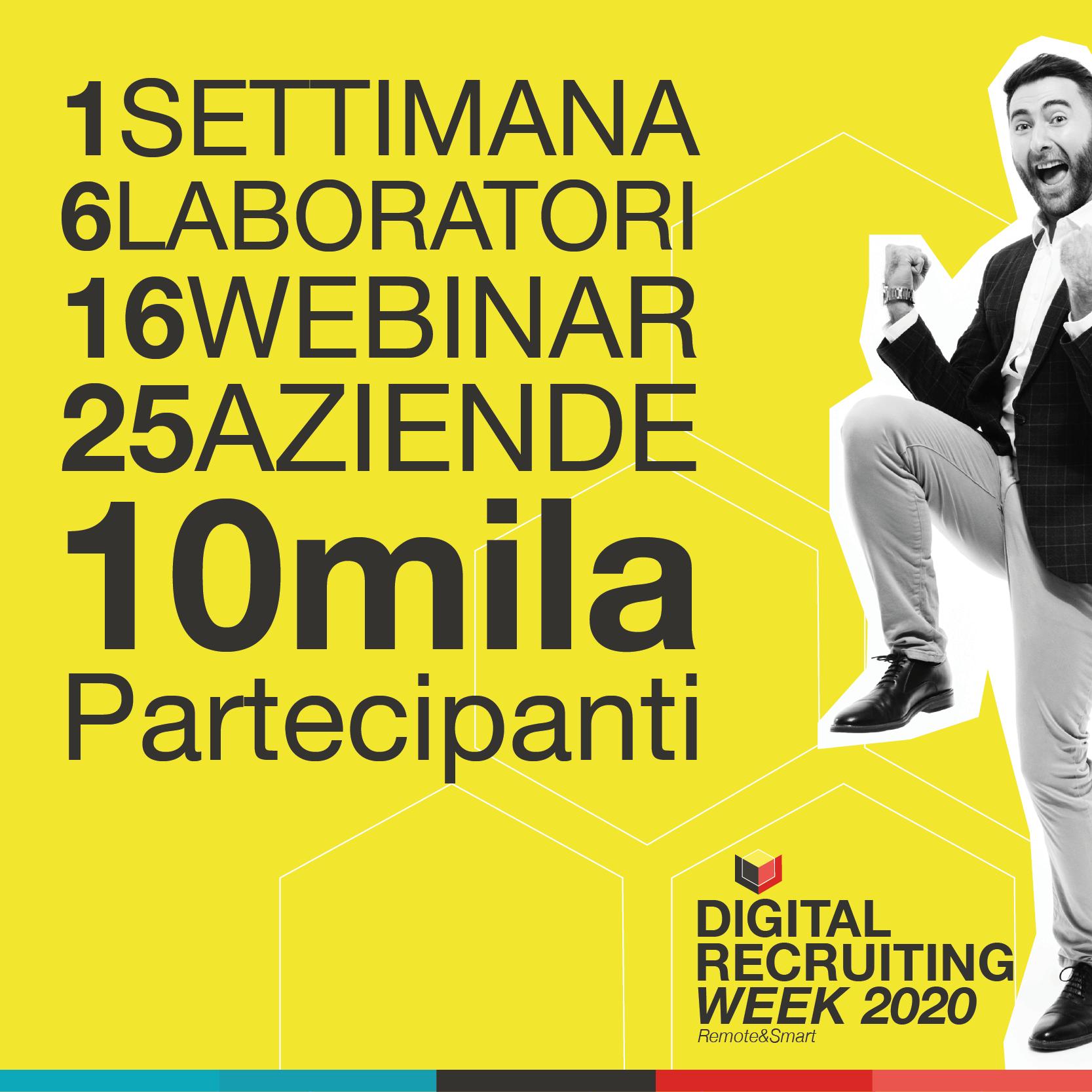 I numeri della Digital Recruiting Week