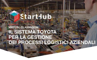 Il Sistema Toyota per la gestione  dei processi logistici aziendali