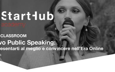 Il nuovo public speaking: come presentarti al meglio e convincere nell'Era Online