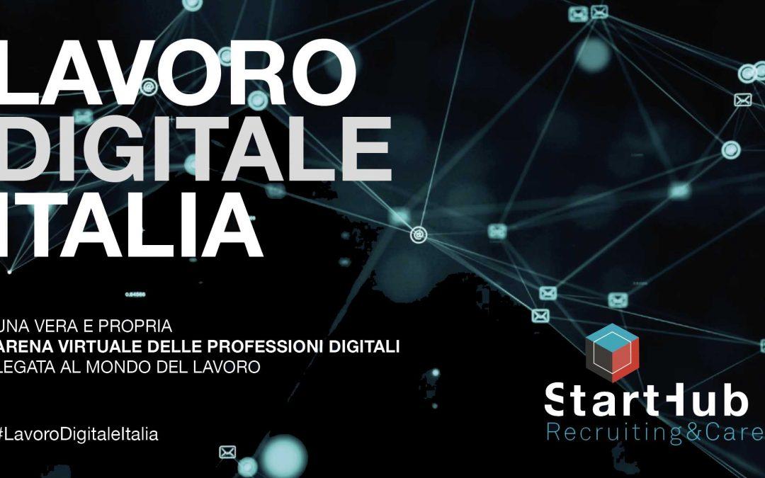 Al via la seconda edizione di Lavoro digitale Italia, l'arena virtuale delle professioni digitali
