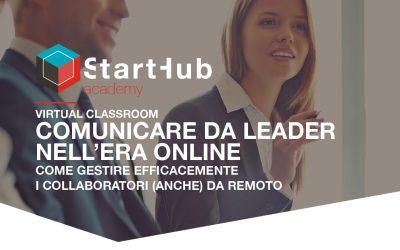 Comunicare da Leader nell'era Online
