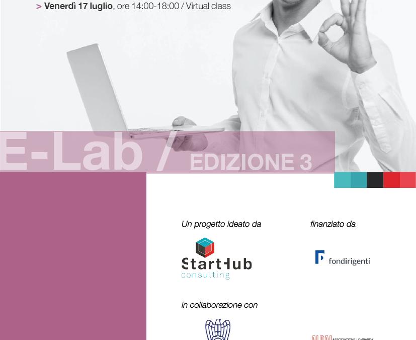 Terza edizione E-Lab: imprese, mondo accademico e Università a confronto