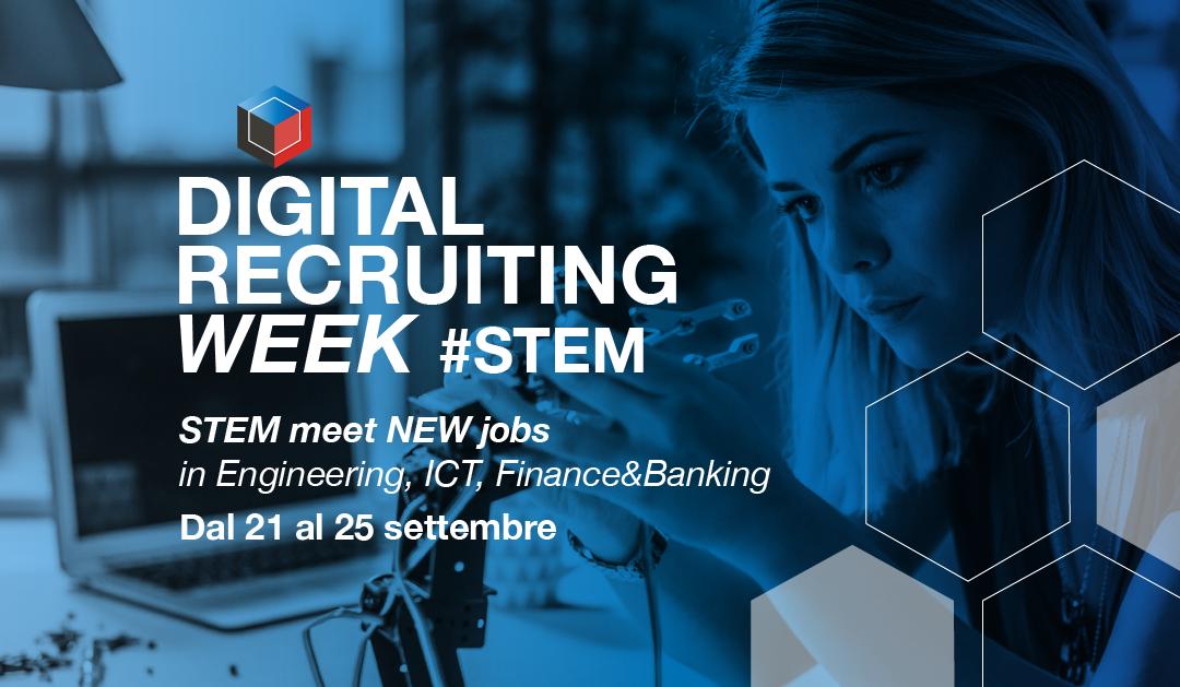 Che cos'è la Digital Recruiting Week STEM? Intervista agli organizzatori