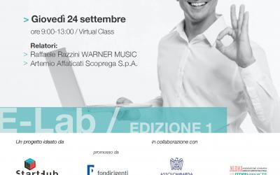 E-Lab, appuntamento dedicato a imprenditorialità e sviluppo idea business