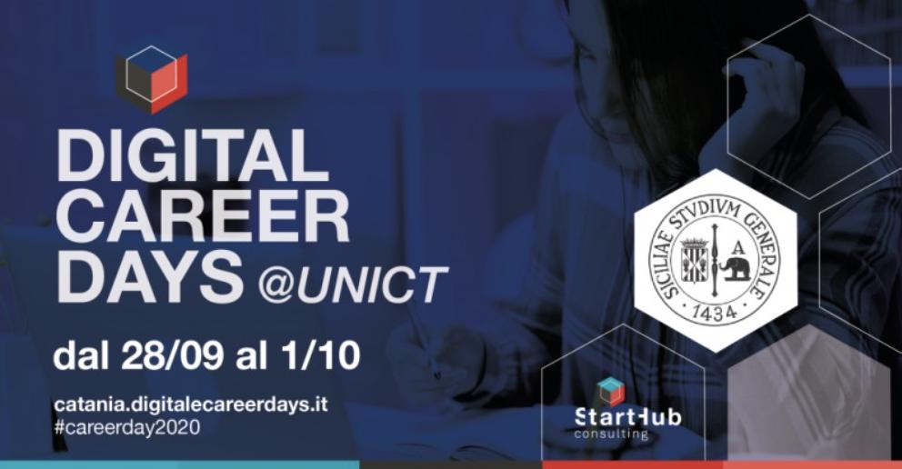 Lunedì cominciano i Digital Career Days dell'Università di Catania