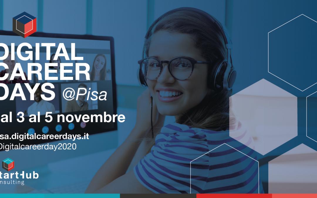 Evento gratuito per chi cerca lavoro a Pisa e dintorni: dal 3 al 5 novembre arrivano i Digital Career Days!