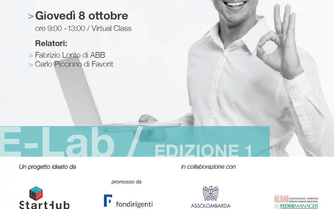 E-Lab. Appuntamento con ABB e Favorit