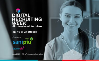 19 – 23 ottobre 2020: arriva online la Digital Recruiting Week Professione Infermiere di Lavoropiù!