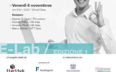 E-Lab. Appuntamento con Prometeon, Hilti e NTT Data