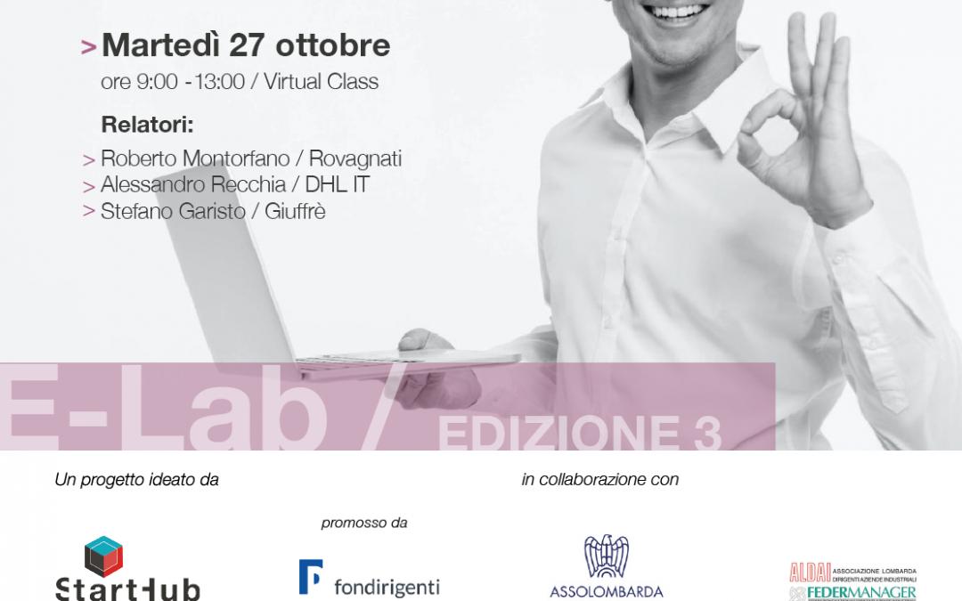 E-Lab, i dottorandi incontrano i manager di Rovagnati, DHL e Giuffrè