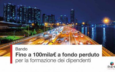 Ultima scadenza Bando For.Te – Fino a 100mila euro per le aziende del settore Commercio, Turismo, Servizi