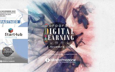 "4 novembre 2021, ""Corporate Digital Learning Summit"""